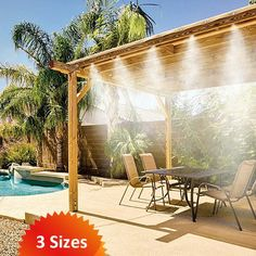 MistyMate Cool Patio Misting System - Upgrade Your Outdoors This Summer