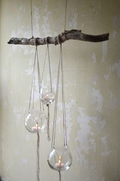 Rustic Tree Branch Candle Holder                                                                                                                                                                                 More