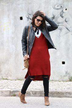 I love Fita Métrica: Knit Tunic