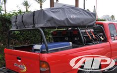 Bed rack - badass, supports roof tent.
