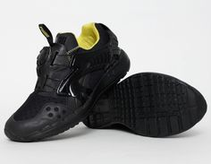#Puma Disc Blaze Black Yellow