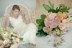 geminiphotographyontario.com - by Angela Y. Martin - romantic spring wedding - fascinator (s) by Oh Dina!