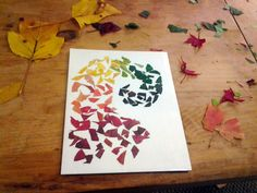 The Mindful Home: Easy Fall Leaves Project