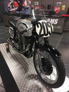 Used 1956 Norton Manx R11 500cc Motorcycles For Sale in Texas,TX. This 1956 Norton Manx R11 500cc is available for purchase from AMS Ducati Dallas. It is 1 of only 100 ever built and is believed to have been raced by Derek Minter. It has a completely rebuilt motor and is an excellent example of one of the most successful race bikes ever made. Please contact Jeff Nash at (214) 466-6540 with questions.