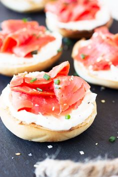 Recipe: Mini Bagels and Lox — Tiny Brunch Recipes from The Kitchn