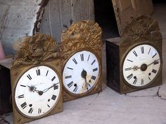 French antique clocks