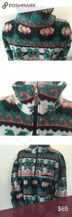 Vintage NORTH FACE fleece pullover  AZTEC large Great vintage condition. Shows wear but no damage at all. Size large. Unisex North Face Other