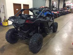 "New 2017 Can-Am Maverickâ""¢ X3 X ds Turbo R ATVs For Sale in Illinois. The X3 X ds Turbo R is all about control, with fully-adjustable FOX 2.5 Podium RC2 HPG Piggyback shocks, with front and rear dual-speed compression and rebound settings for unparalleled flexibility on any terrain, with any driving style."