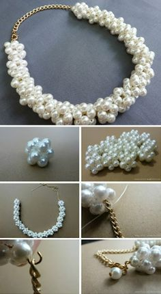 Pearl Beads Necklace – DIY
