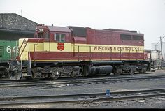 WC 584 Wisconsin Central EMD SDL39 at N. Fond du Lac, Wisconsin by Pete Greischar