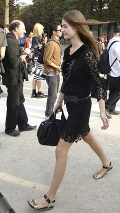 Le Dress - French Chic Street Style - Get the Look - Paris Fashion Week- FocusOnStyle.com