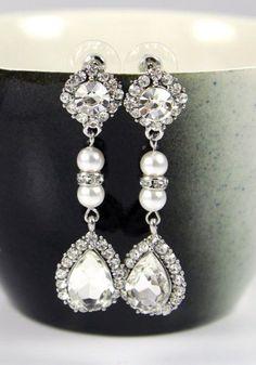 Pandora Wedding Bridal Earrings