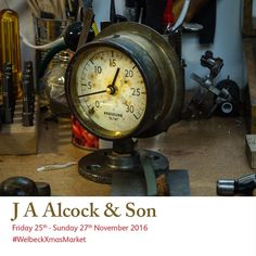 Join clock restorer Ross Alcock in his workshop during 25 - 27 November Free entry and free parking. Christmas Art, Christmas Shopping, Free Entry, Art Market, Restoration, Studios, November, Workshop, Join