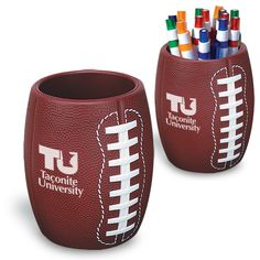 Slip this promotional gem around any standard can to create a practical yet fun display of your favorite sports team great for advertising, fundraising and more.