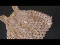 Vestido crochet para bebé