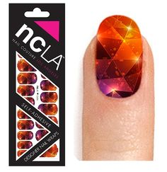 ncLA Geri Nail Wraps. These may be the first stick ons I think are actually worth it. Cute!