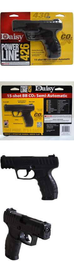 Air Pistols 178887: Daisy Power Line 426 Co2 Bb Air Pistol .177Cal Gun Semi-Automatic Black Outdoor -> BUY IT NOW ONLY: $50.8 on eBay!