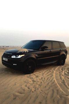 Range Rover, all matte black. Luxury Sports Cars, Top Luxury Cars, Sport Cars, Luxury Suv, Luxury Vehicle, Bugatti, Maserati, Range Rover Preto, Dream Cars