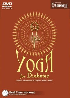 Yoga for Diabetes DVD * Click on the image for additional details. (This is an affiliate link)