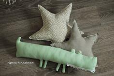 ripaus tunnelmaa: tyynyjä lastenhuoneeseen
