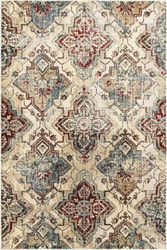 Oriental Weavers Empire Area Rug - This Ivory - Gold rug is an excellent choice for your house. Find out why others choose to shop with RugStudio Wall Carpet, Rugs On Carpet, Carpets, Shaw Carpet, Empire Design, Affordable Rugs, Synthetic Rugs, Textured Yarn, Ancient Egypt