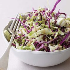 Crunchy Cabbage Salad | Food & Wine. Click on the photo for the complete recipe.  ENJOY!