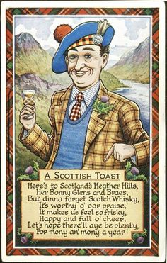 Scottish Toast