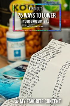 Want to save money on your grocery bill? I'm here to help! I've listed 25 ways you can cut the total you spend at the grocery store. There are no meal plans to purchase and no gimmicks here. However, this will involve an investment of your time. I promise it will be worth both your time and effort to put these 25 methods into practice.