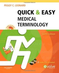 Quick & Easy Medical Terminology, 6e- Medical Terminology book- $35