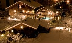 The Hameau Albert is a 5 star Chamonix Hotel available to book through Kaluma Travel. This luxurious and traditional hotel offers delicious gourmet restaurants and stunning spa facilities. Kaluma Travel are luxury tailor-made ski holiday specialists. Chamonix, Ski Holidays, Luxury Hotels, Hotel Offers, Spa, Restaurant, Cabin, France, Traditional