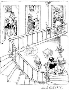 Everything & Nothing: Quino - ¡Yo no fui! Everything And Nothing, Humor, Culture, Humour, Funny Photos, Funny Humor, Comedy, Lifting Humor, Jokes