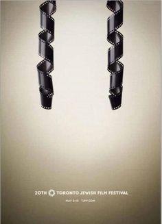 Love this concept art. 2012 Toronto Jewish Film Festival poster