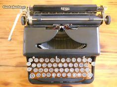 Maquina Escrever Royal Portable Cerca 1935