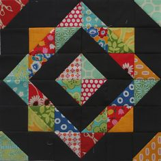 Gorgeous!! You can do this, HST ( half square triangle) a small quilt