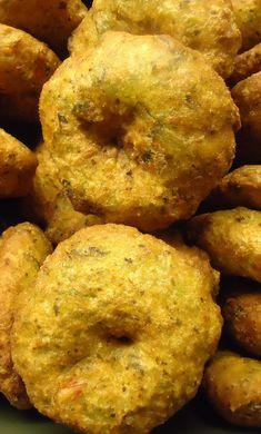 Gemakkelijk Bara recept. Surinaamse snack (vegetarisch)