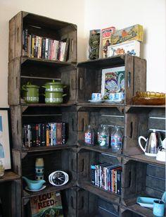 British Vintage Wooden Apple Crates. £38.50, via Etsy.