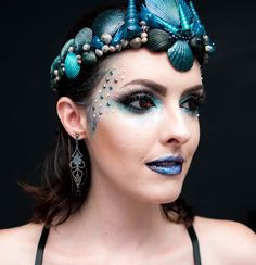 Tutorial Sereia Dark Gótica para Carnaval 2016                                                                                                                                                                                 Mais