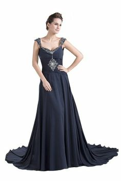 Dlass Crystal Cap Sleeves Long Chiffon Prom Dresses Dark Navy (US14) Dlass,http://www.amazon.com/dp/B00H2842WA/ref=cm_sw_r_pi_dp_aUPbtb11Q226VXCA