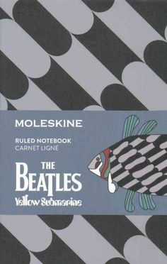 Moleskine the Beatles Limited Edition Notebook Pocket Ruled - Fish