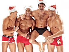 Italy's water polo team. Yes, they would look nice... somewhere in this apartment.