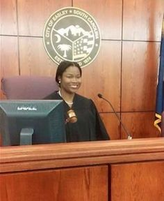 Youngest appointed judge in #USA at 25yrs old. Congratulations!