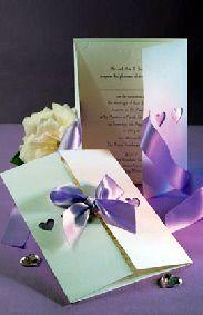 handmade wedding invitations Purple Wedding Invitations, Wedding Invitation Design, Handmade Wedding Invitations, Wedding Stationery, Deep Purple Wedding, Paper Crafts Wedding, Zombie Wedding, Samantha Wedding, Invitation Cards