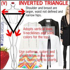 BODY MORPHOLOGY INVERTED TRIANGLE (V)