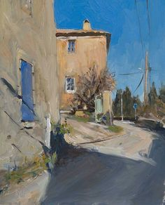 The Path of a Self Taught Artist, with Julian Merrow Smith - Savvy Painter Urban Landscape, Abstract Landscape, Landscape Paintings, Urban Painting, Building Painting, Guache, Impressionist Paintings, Traditional Paintings, Belle Photo