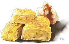 食:玉子焼き