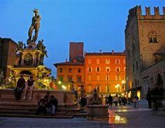 Quando piove a Bologna, non veramente piove perche ci sono i portici.