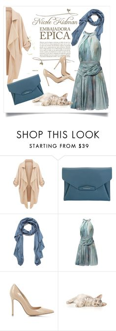 """""""Dress for success"""" by chanlee-luv ❤ liked on Polyvore featuring Givenchy, Faliero Sarti, Matthew Williamson, Gianvito Rossi, women's clothing, women, female, woman, misses and juniors"""