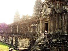 Angkor Wat, Cambodia  Go Cambodia. A unique holiday experience that will be so different from your other holidays. An experience worth paying for! And its affordable than other places! With Angkor Orchid Central Hotel  http://www.angkororchid.com/