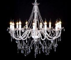 Kristall Kronleuchter Lüster Deckenleuchte Hängeleuchte Lampe Glas 12-flammig: Amazon.de: Beleuchtung