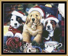 Jenny Newland - Santa's Paws